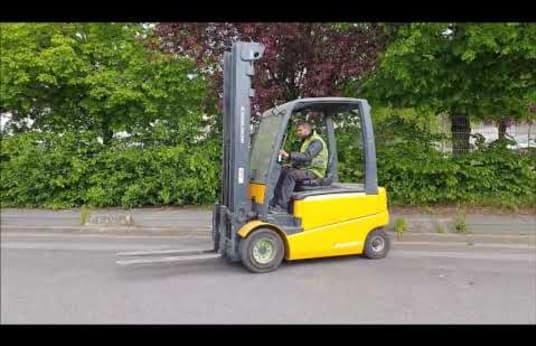 JUNGHEINRICH EFG430 670DZ Electric Four Wheel Counterbalanced Forklift