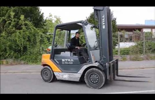 STILL R70-40T Gas Four Wheel Counterbalanced Forklift