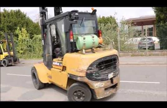 CATERPILLAR GP45K2 Gas Four Wheel Counterbalanced Forklift