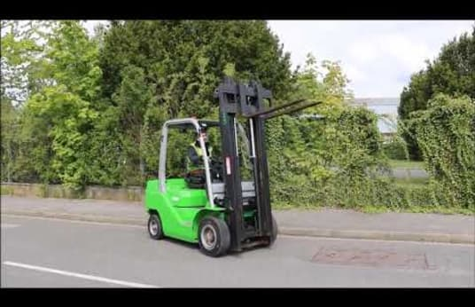 CESAB M325D Diesel Four Wheel Counterbalanced Forklift