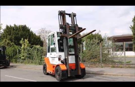 DANTRUCK 8450DG15 Diesel Four Wheel Counterbalanced Forklift