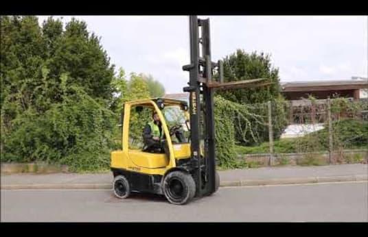 Chariot Elévateur Frontal 4 Roues Diesel HYSTER H3.00FT