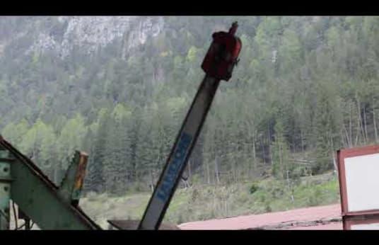 Log Trimming Machine