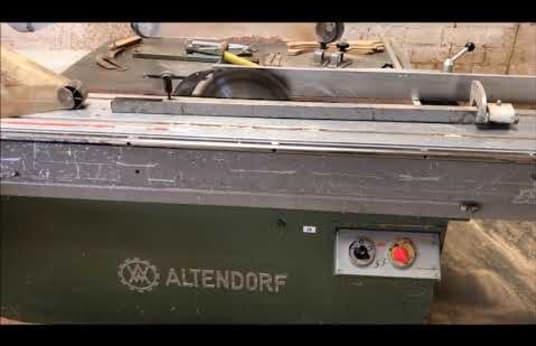 ALTENDORF F 90 Asztali körfűrész