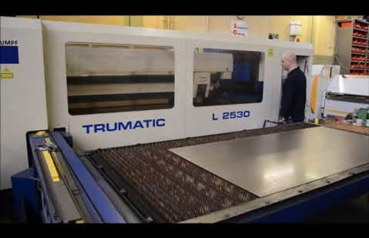 Trumatic L 2530 Laser Cutting System