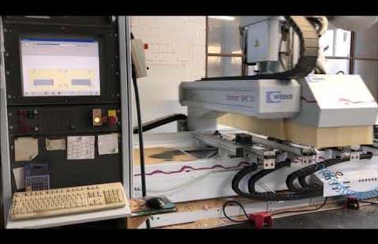 WEEKE OPTIMAT BHC 550 CNC-Bearbeitungszentrum