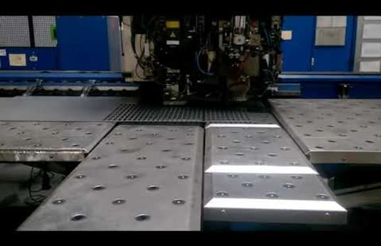 TRUMPF TC 600L-1600 Punch-Laser Combination Machine