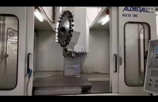 Centro di lavoro verticale ALZMEETALL BAZ 35 CNC