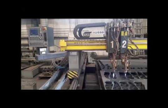 Maszyna do cięcia plazmowego i płomieniowego ESAB Combirex CXL-P