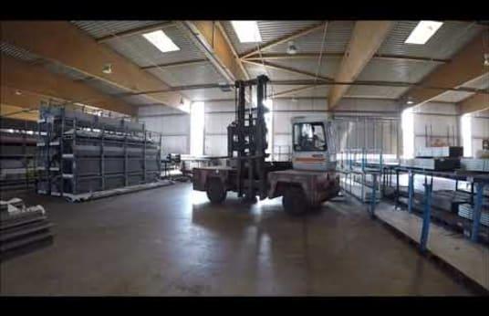 KALMAR DFQ 50/14/45 D Diesel-Seitenstapler