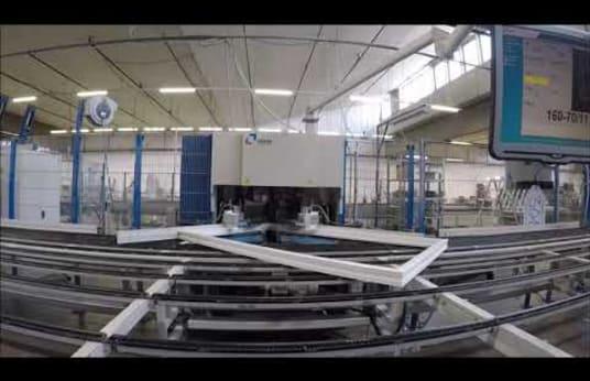 STÜRTZ SE-4 VSM-40/26-P Window Production Plant