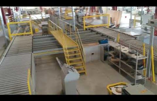 Línea superior de cocina para corte y chapado de cantos ESSETRE MULTITRONIC 5713 TOPS