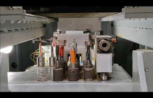 HIRZT MERIS CNC-Durchlaufbohrmaschine