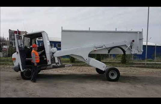 MERCEDES VARIO 812 DT Vehicul special cu container detasabil