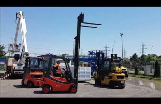 LPG vysokozdvižný vozík LINDE H16T