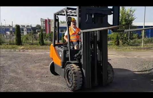 Wózek widłowy diesel DOOSAN D 33 S5