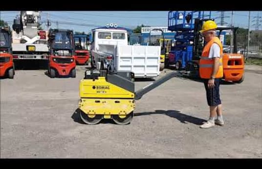 BOMAG BW 65 H Lightweight double vibratory roller