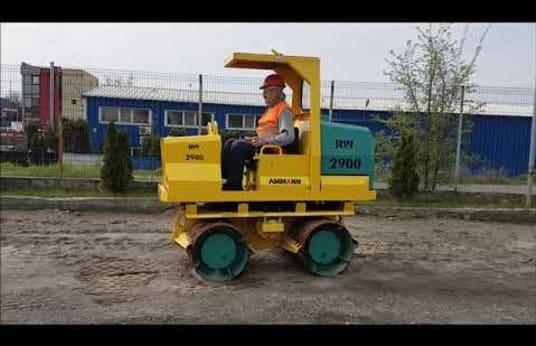 AMMANN RAMMAX RW 2900 Grave roller