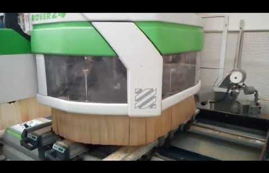 Centro de mecanizado CNC BIESSE ROVER 24L (EDGE)