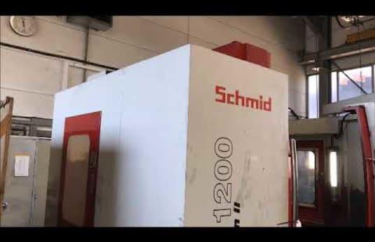SCHMID VMC-1200 II Vertikální obráběcí centrum