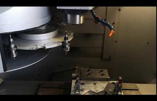 REALMECA RV-2SP High speed CNC vertical milling machine