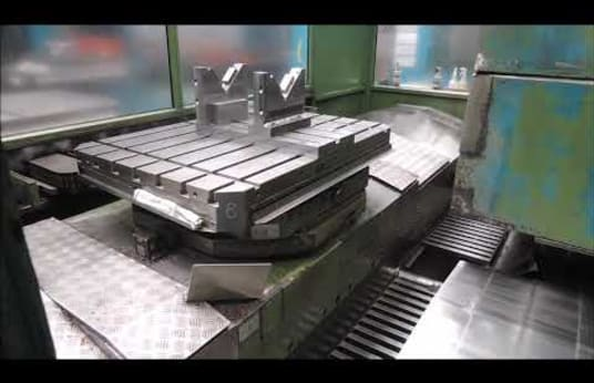 2 INGERSOLL BOHLE Producent W2.140 Horizontal Machining Centers