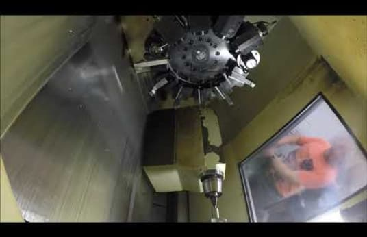 GILDEMEISTER CTX 420 linear CNC strug