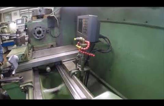 HEIDENREICH & HARBECK HANSEAT 480 Leit- und Zugspindeldrehmaschine