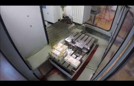 KUNZMANN WF 4/3 CNC Tool Milling Machine