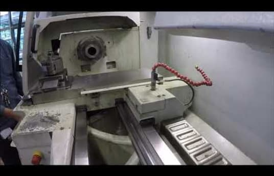WEILER E 35 D Cycle Lathe