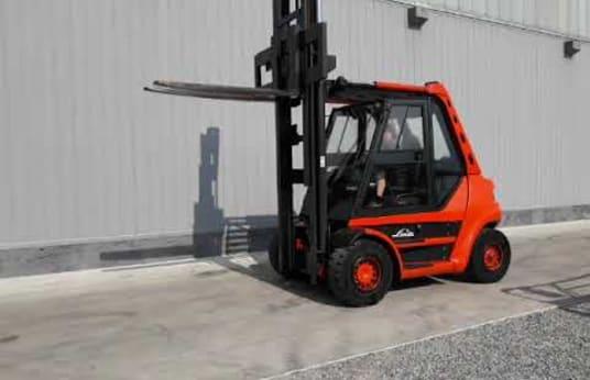 LINDE H50 (3550) Dieselheftruck
