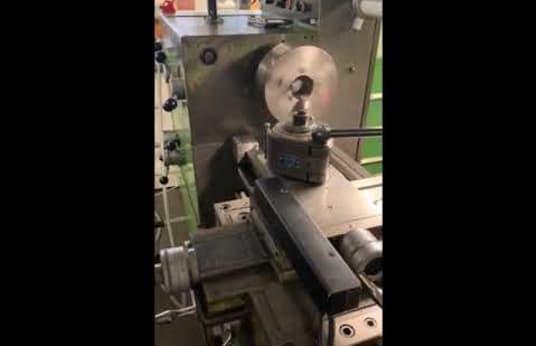 HEIDENREICH & HARBECK HANSEAT 350 Leit- und Zugspindeldrehmaschine