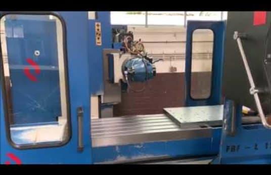 LAGUN FBF L 1200 Bed-Type Milling Machine