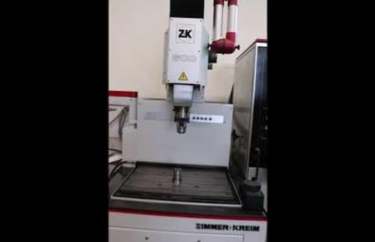 ZIMMER & KREIM ZK 600 Senkerodiermaschine