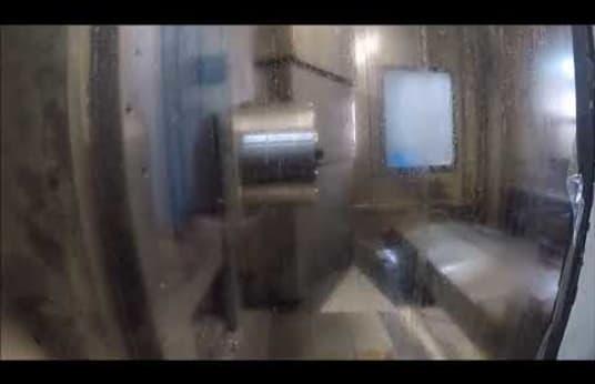 Centro de mecanizado horizontal BURKHARDT + WEBER MC 80