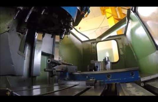 TONG-IL TNV-30 Függőleges megmunkáló központ