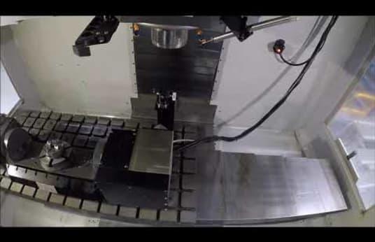 HAAS VM 3 Verticaal bewerkingscentrum