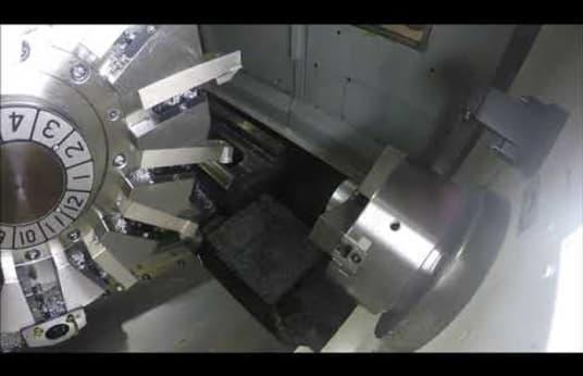 OKUMA GENOS L 400 E CNC-Drehmaschine