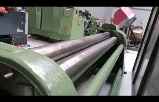 FASTI 109/14 3-roll sheet bending machine