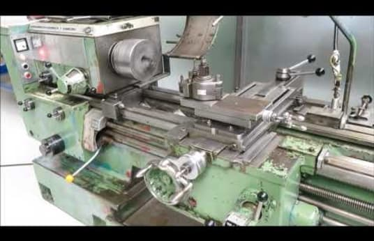 VDF-HEIDENREICH & HARBECK 21 RO Center Lathe