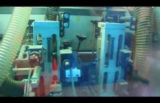 HOMAG PROFI KFL 620/27/QA/25 Doppelseitige Kantenanleimmaschine
