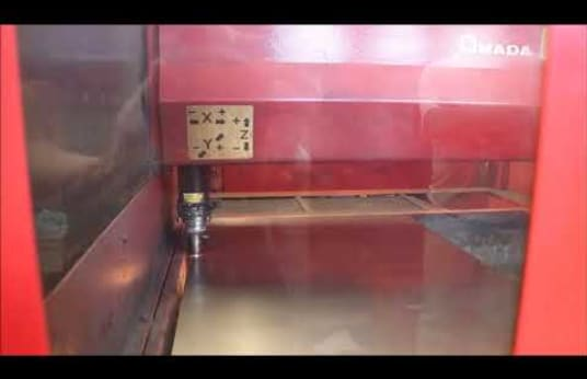 AMADA QUATTRO CNC Laser Cutting Machine