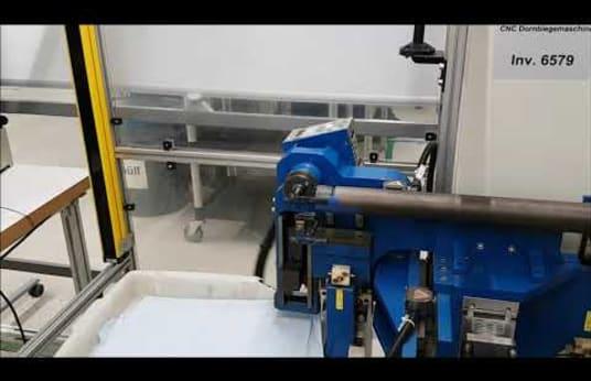 TRANSFLUID DB 412 CNC Rohrbiegemaschine