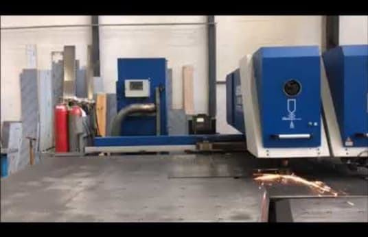 BOSCHERT Combi-Cut 1250 CNC punching-plasma combination machine