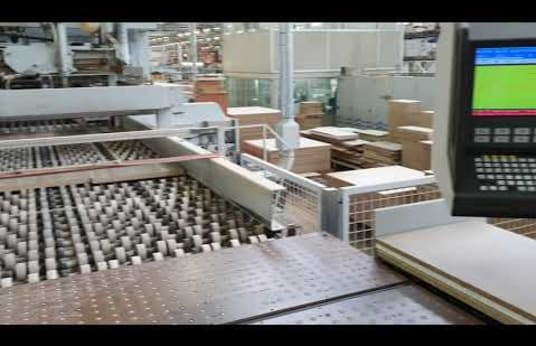 HOLZMA / BARGSTEDT HFV 42/56/22 LS-QS Panel Saw & Angular Plant Machine