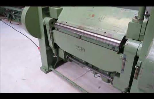 FASTI 1020 x 4,0 Swivel bending machine