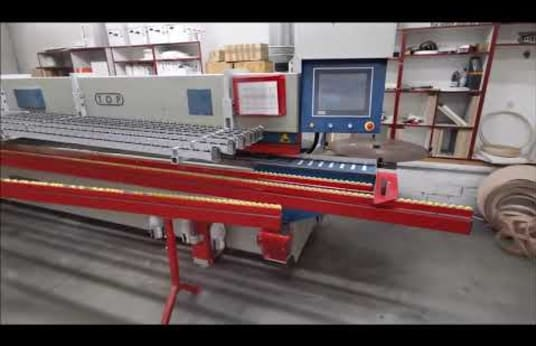 OTT TORNADO - TOP Edge Banding Machine with Ligmatech Return System