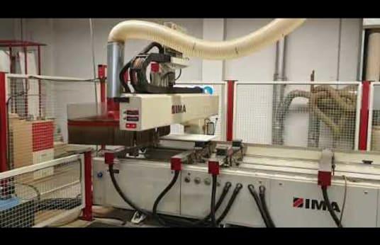 Centro de mecanizado CNC IMA BIMA 210/120/600