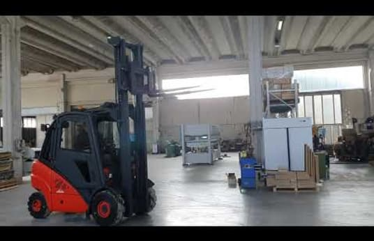 LINDE H30D Diesel targonca