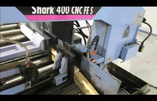 MEP Shark 400 CNC FE CNC band saw machine